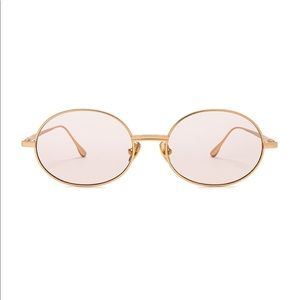 my my my Accessories - Revolve mymymy Wyatt Gold Mirrored Sunglasses